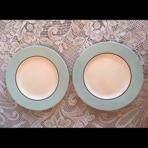 2 Pagnossin Audrey Robin Egg Salad Plate